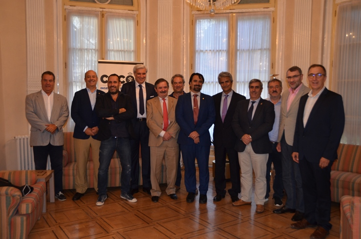 CGCOII y FEDAOC firman un convenio de colaboración en materia de seguridad industrial