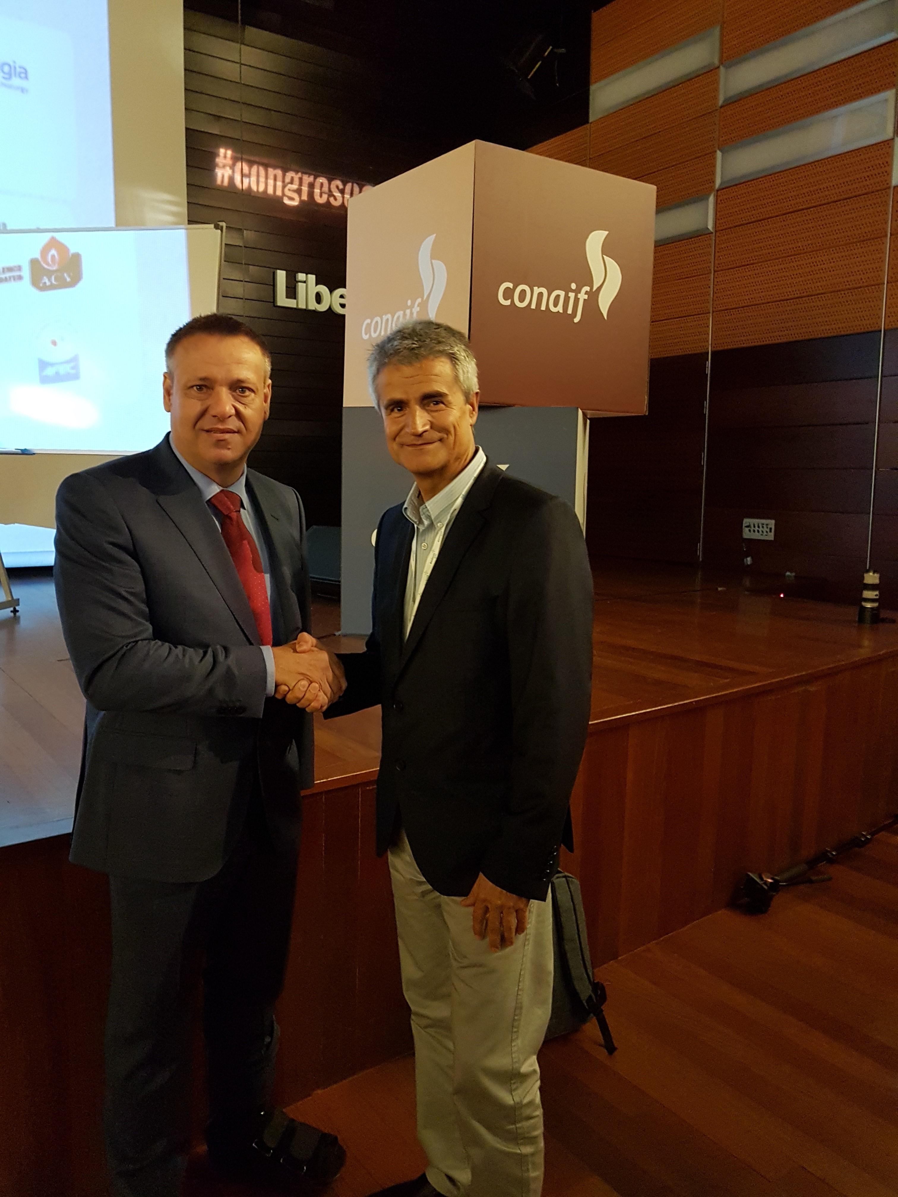 CONAIF y FEDAOC firman un convenio de colaboración en materia de seguridad industrial