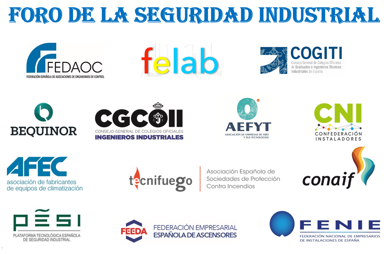 El Foro de la Seguridad Industrial (FSI) elabora una serie de ideas, que puedan permitir avanzar en la materialización de propuestas para la mejora de la seguridad industrial